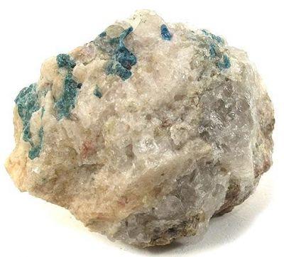 Vesuvianite, Quartz