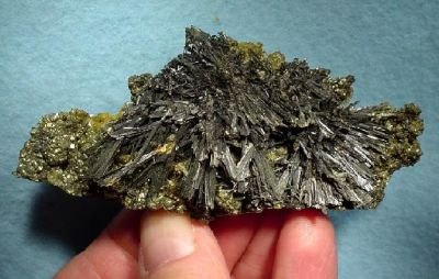 Zinkenite, Pyrite