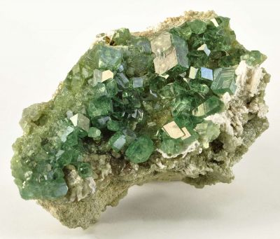 Andradite Var. Demantoid Garnet