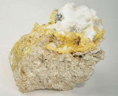 Kleinite With Hyalite Opal