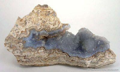 Gem Chalcedony Pseudomorph After Fluorite