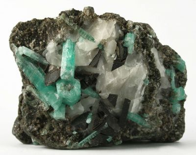 Chamosite With Emerald