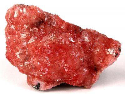 Rhodochrosite on Manganite