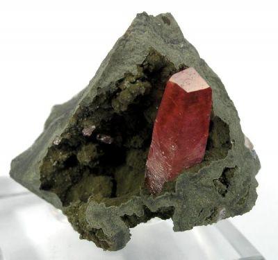 Rhodochrosite (In Basalt)