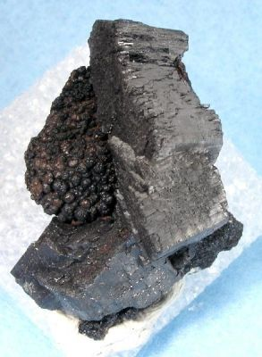 Manganite on Goethite