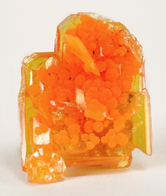Wulfenite and Mimetite