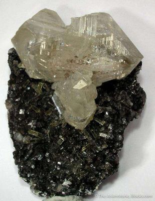 Cerussite With Mimetite and Galena