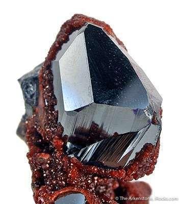Hematite With Andradite Garnet