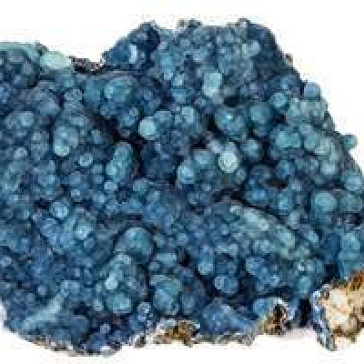 Blue Plumbogummites from China