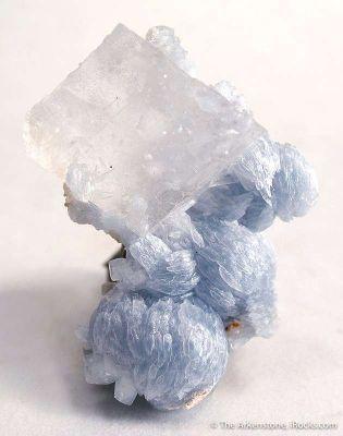 Calcite on Brucite