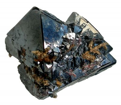 Cuprite With Crystallized Silver