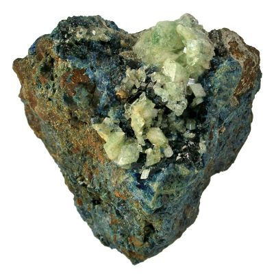 Augelite and Lazulite