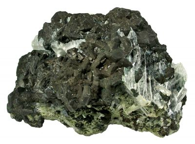 Chalcocite With Gypsum