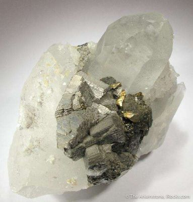 Stannite, Arsenopyrite and Quartz