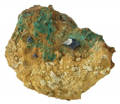 Cumengeite on Matrix