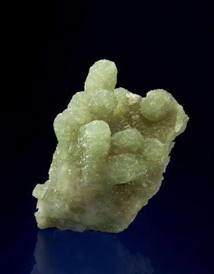 Prehnite Cast After Anhydrite