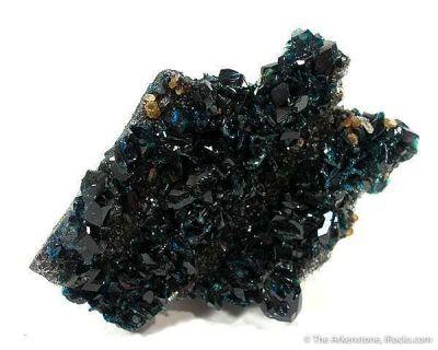 Lazulite on Siderite