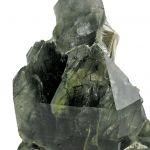 Quartz With Actinolite and Scolecite