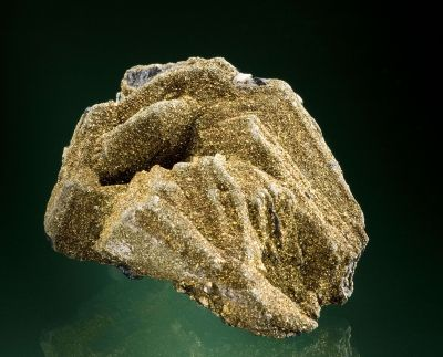 Polybasite With Chalcopyrite