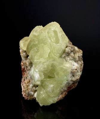 Smithsonite on Willemite