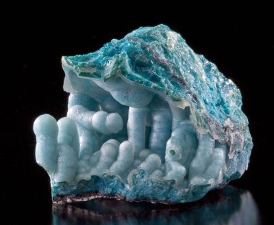 Chrysocolla Coated By Chalcedony