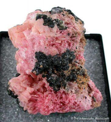 Rhodochrosite and Pyroxmangite