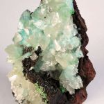 Calcite and Aurichalcite