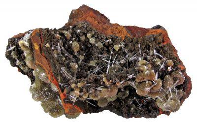 Adamite With Gypsum
