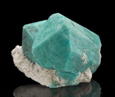 Amazonite on Cleavelandite