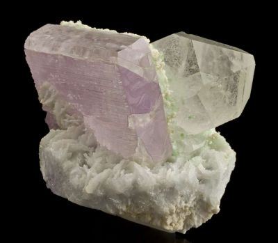 Kunzite With Quartz