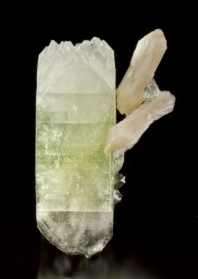 Fluorapophyllite With Stilbite