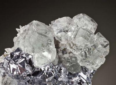 Fluorite, Galena, Calcite