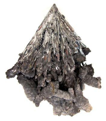 Stibnite With Calcite