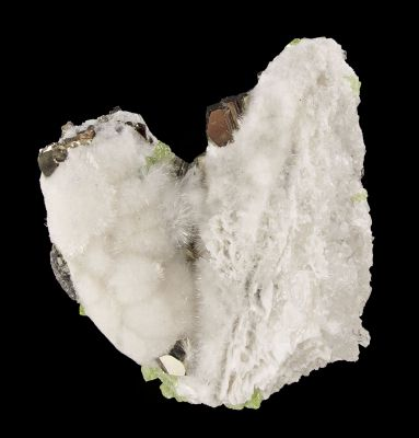 Mesolite With Pyrite