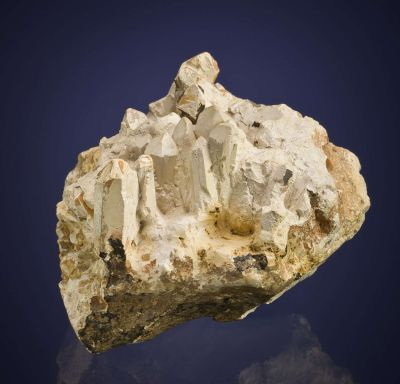 Talc Pseudomorph After Quartz (Steatite)