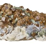 Grossular Garnet With Diopside