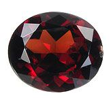 Garnet (Probably A Mix Of Grossular and Spessartine)