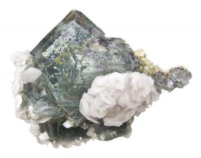 Fluorite, Calcite, Muscovite