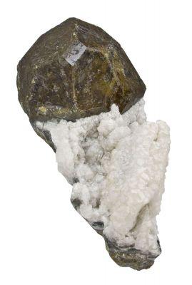 Garnet on Calcite