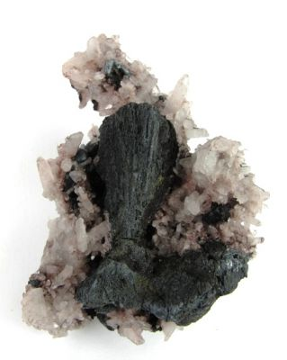 Chalcocite Ps. Tennantite and Quartz