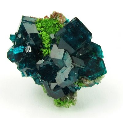 Dioptase and Bayldonite