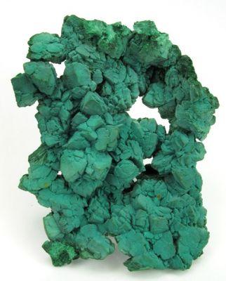 Rosasite Ps. Malachite Ps. Azurite With Primary Malachite