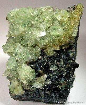 Augelite With Lazulite