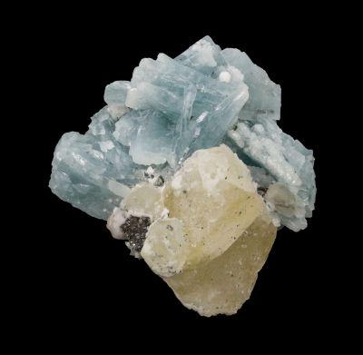 Prehnite With Calcite