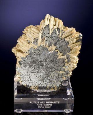 Rutile and Hematite