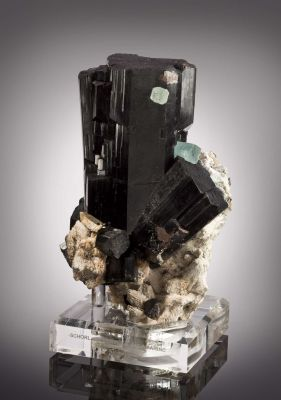 Schorl and Aquamarine