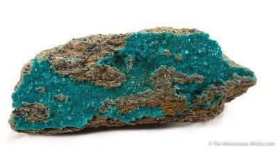 Turquoise on Quartz
