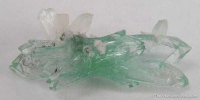 Fluorapophyllite and Stilbite (Floater)
