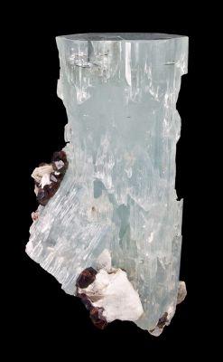 Aquamarine, Spessartine, Mica, Feldspar