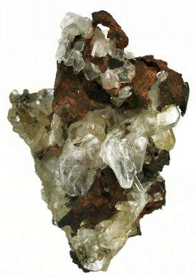 Apophyllite & Copper